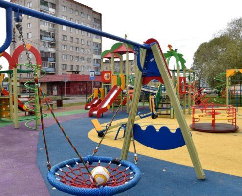 Опубликован перечень оборудования для детских площадок