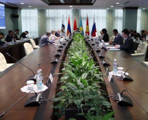 Консультации Китай и ЕАЭС