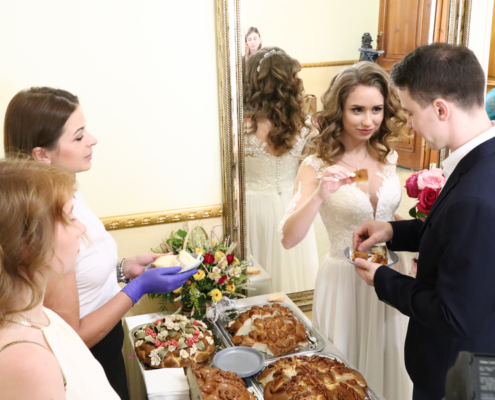 Дегустация свадебных караваев
