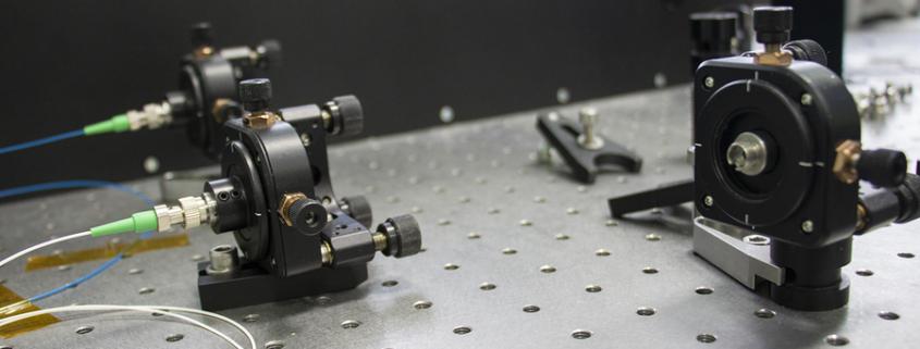 измерение лазерного излечения
